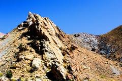 Rotsen van het dinosaurus de Nationale Monument stock foto's
