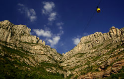 Rotsen van Montserrat Stock Foto