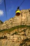 Rotsen van Montserrat Stock Afbeeldingen