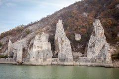 Rotsfenomeen de Prachtige Rotsen in Bulgarije Chudniteskali Royalty-vrije Stock Afbeelding