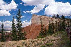Rotsklippen van Bryce Canyon Royalty-vrije Stock Fotografie