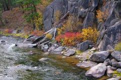 Rotskreek Sapphire Mountains Royalty-vrije Stock Afbeelding