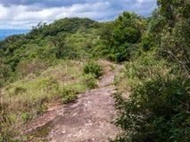 Rotssleep in Braziliaanse bergen stock foto