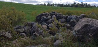 Rotsstapel stock afbeelding