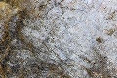 Rotstextuur en oppervlakteachtergrond Gebarsten en doorstaan natur Stock Afbeelding