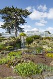 Rotstuin bij Kew-Tuinen stock afbeeldingen