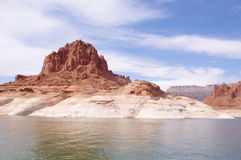 Rotsvorming in Glen Canyon, Arizona, de V.S. Royalty-vrije Stock Afbeelding