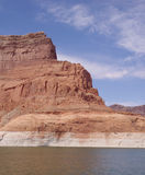Rotsvorming in Glen Canyon, Arizona, de V.S. Stock Foto