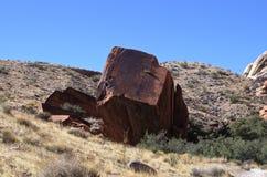 Rotsvorming, het Rode Gebied van het Rotsbehoud, Zuidelijk Nevada, de V.S. stock afbeelding