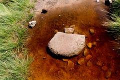 Rotsvormingen bij Hoopvallei in het Piekdistricts Nationale Park, Derbyshire Royalty-vrije Stock Foto's