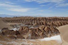 Rotsvormingen van de Maanvallei Royalty-vrije Stock Afbeeldingen