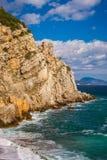 Rotszeil in Gaspra Yalta Stock Foto