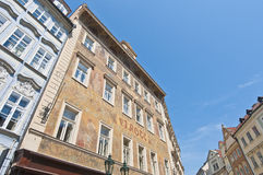 Rott House at Prague Stock Image
