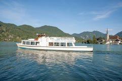 Rottach-Egern,湖Tegernsee,巴伐利亚,德国 免版税库存照片