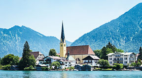 Rottach-egern Royalty Free Stock Image