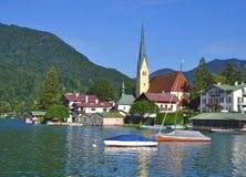 Rottach-Egern,Lake Tegernsee Stock Photo