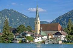 Rottach-egern at Lake Tegernsee,Bavaria,Germany Stock Image