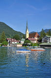 Rottach-Egern,Lake Tegernsee,Germany Royalty Free Stock Image