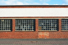 Rotte fabriek Royalty-vrije Stock Fotografie