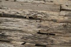 Rotte houten plankenachtergrond royalty-vrije stock foto