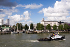 Rotte river. Rotterdam, Netherlands Royalty Free Stock Image