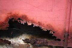 Rotted e oxidado Fotos de Stock Royalty Free