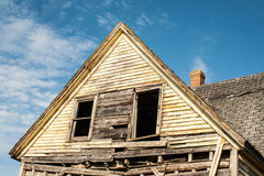 Rotted out Windows Stock Photography