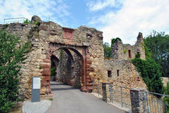 Rotteln castle entrance Royalty Free Stock Photo