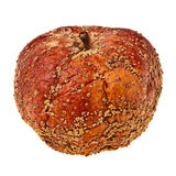 Rotten apple. Rotten apple isolated over white background Stock Images