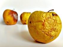 Rotten apples Stock Photos