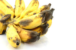 Rotten banana Royalty Free Stock Images