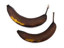 Rotten banana Royalty Free Stock Images