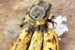 Rotten banana Royalty Free Stock Photography