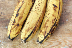 Rotten banana Stock Photo
