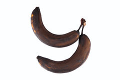 Rotten banana Stock Images