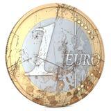 Rotten Euro Stock Photography