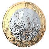 Rotten Euro Royalty Free Stock Photos