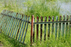 Rotten fence Stock Images