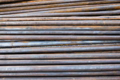 Rotten iron tubes Royalty Free Stock Images