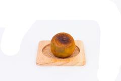 Rotten Orange Isolated on white background Stock Photo