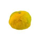 Rotten orange isolated Royalty Free Stock Images