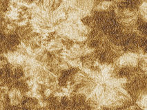 Rotten Parchment Surface. Rotten rough parchment like surface texture in sepia color Stock Photo