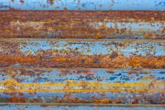 Rotten pipes Royalty Free Stock Photo