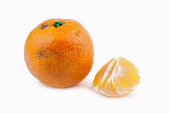 Rotten tangerine Royalty Free Stock Photo