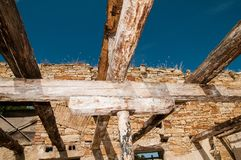 Rotten timbers - detail Royalty Free Stock Images