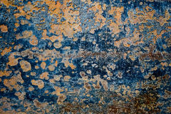 Rotten Wall Texture. Old dirty rotten wall detail texture with abstract tust from top to bottom Royalty Free Stock Photo
