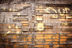 Rotten wooden texture. Stock Photography