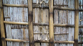 Rotten wooden wall Stock Images