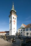 Rottenbuch Church, Germany. The free-standing tower of Rottenbuch Church, Bavaria, Germany Royalty Free Stock Photo