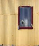 Rottend venster Stock Fotografie